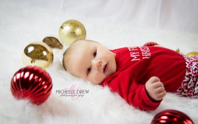 Christmas Photos – Baby P