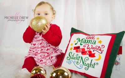 Christmas Photos – Baby Z