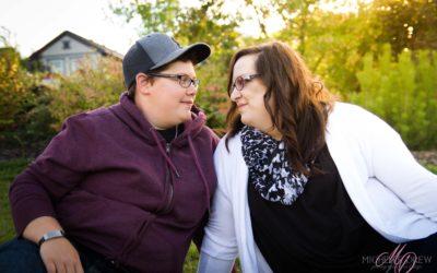 Kari and Ashley – Edmonton Engagement